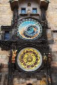 Reloj astronómico gótico — Foto de Stock