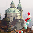 St. Nicholas church, Prague — ストック写真
