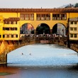 Ponte Vecchio Bridge - Stock Photo