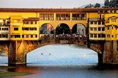 Ponte Vecchio Bridge — Stock Photo