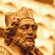 Baroque statue detail — Stock Photo