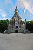 The graveyard church — Stock Photo