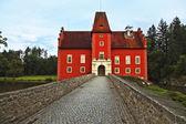 El castillo rojo — Foto de Stock