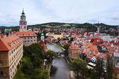 Town of Cesky Krumlov — Stock Photo