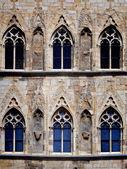 Gotiska fönster — Stockfoto