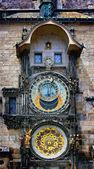 Astronomical clock, Prague — Stock Photo