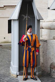 Swiss Guard in Vatican — Stock Photo