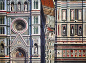 The detail of cathedral — Stock Photo
