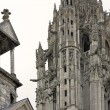 Stock Photo: Chartres cathedral detail