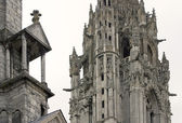 Chartres cathedral detail — Stockfoto
