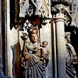 Cathedral interior detail — Stock Photo