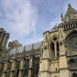 Gothic cathedral Rheims in France — Stock Photo