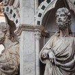 Saint statues detail — Stock Photo #39328571