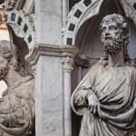 Saint statues detail — Stock Photo