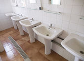 Public Bathroom — Stock Photo