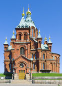 Uspenski Orthodox Church, Helsinki 3 — Stock Photo