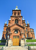 Uspenski Orthodox Church, Helsinki 2 — Stock Photo