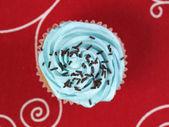 Cupcake gesehen von oben 2 — Stockfoto
