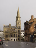 Building with bell tower in Stirling — Stock Photo