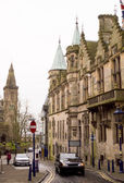 Street in Dunfermline (Scotland) — Stock Photo
