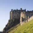 Edinburgh Castle in Scotland 01 - Stock Photo