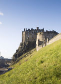在苏格兰的爱丁堡城堡 — 图库照片