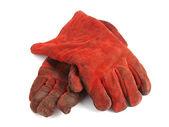 Wo rote handschuhe — Stockfoto