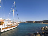 Seascape in Rhodes — Stock Photo