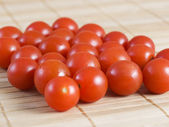 Many cherry tomatoes — Stock Photo
