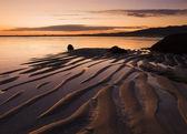 Beach at dusk — Stock Photo