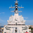 Stock Photo: FERROL, SPAIN-FEBRUARY 16: Frigate F-101 Alvaro de Bazan during