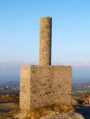 """Geodesic vertex"" in Galicia. — Stock Photo"