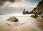 Beach in Galicia, — Stock Photo