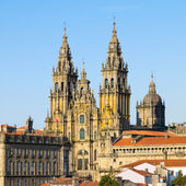 SANTIAGO DE COMPOSTELA, SPAIN - MARCH 21.: Cathedral of Santiago — Stock Photo