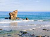 Aguilar beach in Asturias, Spain. — Stock Photo