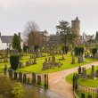Foto de Stock  : Scottish Cemetery in Stirling (Scotland)