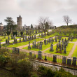 Scottish Cemetery in Stirling (Scotland) — Stock Photo