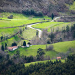 Little valley in Asturias, Spain. — Stock Photo