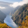 Sil river canyon, in Orense, Spain — Stock Photo