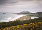 Doninos beach in Ferrol, Galicia, Spain. — Stock Photo
