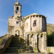 Caaveiro monastery in Fragas do Eume, Galicia, Spain. — Stock Photo