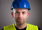Worker man portrait — Stock Photo