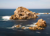 Small islands in galician coast, Spain — Stock Photo