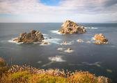 Paisaje marino en la costa de galicia, españa. — Foto de Stock