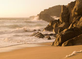 Detail of galician coast, Spain. — Stock Photo