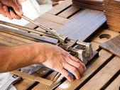 Macchina di taglio manuale ceramica — Foto Stock