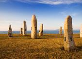 Celtic monuments in A Coruna, Galicia, Spain — Stock Photo