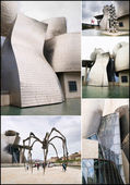 BILBAO, SPAIN-JULY 19: The Guggenheim Museum in Bilbao, Spain, o — Stock Photo
