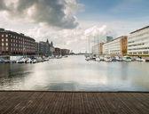 Cityscape of Copenhagen — Stockfoto