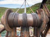 Rusty crane detail — Stock Photo